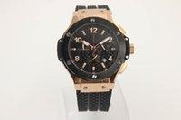Wholesale Advance Quartz Watch - AAA Bang king, advanced custom, luxury, black time, 18K high quality, 1887 brand classic fusion, professional fashion men watch original buc