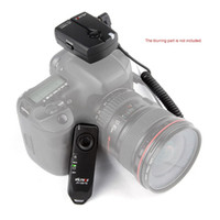Wholesale Pentax Remote - Viltrox JY-120-C1 2.4GHZ FSK Wireless Remote Shutter Controller Set Time Lapse BULB with C1 Cable for Canon Pentax Camera