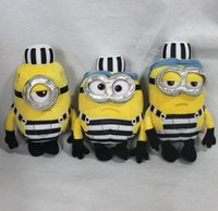 Wholesale Despicable Plush 25cm - 171217 Minions Despicable Me 25cm Kevin Bob New Arrival Hot Sell Stuffed Animals & Plush Toys Birthday Gift Action Figure Free Shipping