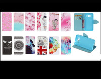 Wholesale Iphone 3g Leather Wallet - Tower Cat Windbell Bear Elephant Wallet Leather Huawei P9 case holder stand for Wiko Rainbow Jam 3G