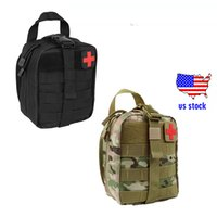 Wholesale Wholesale Tactical Stocks - Rip-Away Tactical EMT Pouch MOLLE Individual First Aid Kit Utility Emergency Pack for hunting wholesale US stock