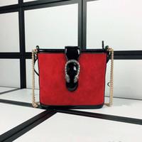 Wholesale Boutique Fashion Designers - High-end fashion designers in 2017, the latest high-end fashion boutique women's single shoulder bag wholesale red women's one-shoulder bag