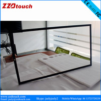 Wholesale 49 quot points multitouch infrared frame overlay kit IR touch frame for industrial application interactive whitboard touch screen