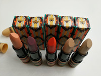 Wholesale lipstick vibe - 2016 New VIBE Tribe Lipstick Matte Litmited Edition Serial Lip Gloss 5colors in stock DHL ship