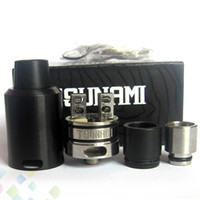 Wholesale velocity rda for sale - Vaporizer Tsunami RDA By GeekVape Clone Improved Velocity style deck mm Rebuildable Dripping Atomizer fit Mod DHL Free