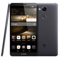 Wholesale Huawei Ascend Mate Smartphone - Huawei Ascend Mate 7 Unlocked Android 4G LTE Smartphone Hisilicon Kirin 925 8 Core 2GB RAM + 16GB ROM FDD-LTE & WCDMA & GSM Black