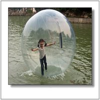 Wholesale Hamster Balls - Factory Price Top Quality 2.0m Water Walking Ball Zorb Ball Inflatable Inflatable Human Size Hamster Ball For Sale