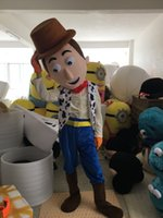 Wholesale Woody Costumes - Hot Sale Woody The Cowboy mascot costume custom fancy costume anime mascot theme fancy dress carnival costume