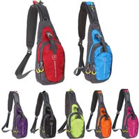 Wholesale Women Traveling Bags - Men Women Chest Bag 2017 Outdoor Sport Bag Shoulder Sling Pack Pouch Nylon Bag for Traveling Camping Hiking with Multi-Pocket