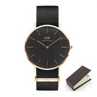 Wholesale Simple Men Watch - Quartz Watches Luxury Men Women Fashion Casual Watch 30M Waterproof Simple Ultra-thin Design Wristwatches Daniel brand clock