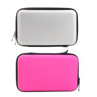 Wholesale Nintendo 3ds Xl Cases - Wholesale- New Portable High Quality EVA Skin Carry Hard Case Bag Pouch Cases for Nintendo for 3DS XL LL With Strap 2 Colors