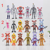 Wholesale Circus Wholesale - FNAF Five Nights At Freddy's Sister Location Circus Baby Funtime Foxy Ballora Puppet Freddy Bonnie Action Figure toy