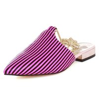 Wholesale Lace Up Material Heels - SJJH Ballet flats with lace up and pointed toe and fluorescent material casual shoes for fashion women PP219