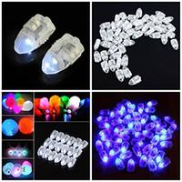 lámparas de globo al por mayor-Lámpara de globo LED Luz floral Globo luminoso Luces led para Linterna de papel Boda Fiesta de cumpleaños Decoración Decoración del hogar