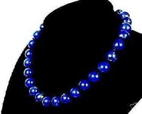 Wholesale egyptian lazuli lapis - Women Beads Jewelry Women Stone Necklaces Pendants Pendant Necklace Stunning!10mm Egyptian Lapis Lazuli Necklace