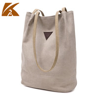 Wholesale Leather Tote Bags Wholesale - 2017 New canvas handbags tote bags for women shopping bag single shoulder bags fresh and fashion school style students