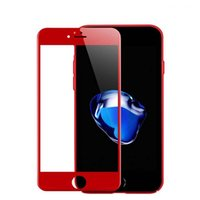 Wholesale color tempered glass online - Tempered Glass Film For Iphone S Plus D Curved Full Cover Soft Edge Screen Protectors Carbon Color With Packing For with retail box