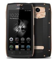 Wholesale Gps Quadcore - Fashion Blackview BV7000 Mobilephone IP68 Waterproof MTK6737T QuadCore 5.0 Inch HD 2G RAM 16G ROM Fingerprint GPS+Glonass 4G Ite Smartphone