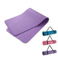 Wholesale 183x61x1cmThick Exercise Yoga Mat Pad Non Slip Lose Weight Exercise Fitness Folding Gymnastics Mat for Fitness