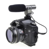 Wholesale Dslr Movie Camera - Photo Studio Accessories Stereo Shotgun Microphone SG-108 with Movie Function for DSLR Camera and Camcorder SG108