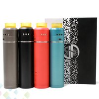 Wholesale wholesale electronic cigarette pro kits - Newest 528 Pro Mod Kit 24mm Diameter Double-Deck Tube 18650 Vape Mods with Goon 528 Pro RDA Electronic Cigarette DHL Free