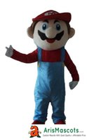 Wholesale Super Mario Characters Fancy Dress - Super Mario mascot suit cartoon character mascots fancy dress costume kids carnival party dress