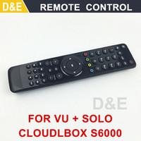 Wholesale Cloud Ibox Free Shipping - Wholesale- 2016 1pc remote control for VU solo Cloud ibox VU Solo pro VU Duo X Solo mini Openbox S6000HD satellite receiver free shipping