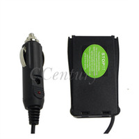 Wholesale two way adapter - Wholesale- Car Charger Battery Eliminator Adapter DC 12V For Two Way Radio BF 888S Baofeng Portable Walkie Talkie BF-888S BF-777 S BF-666S