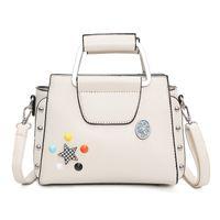 Wholesale White Metal Buckets - 2017 New fashion shoulder bags for women totes flap crossbody bag free shipping designer handbags wholesale metal handbag