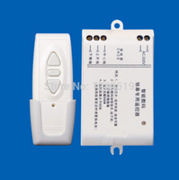 Wholesale Curtains Motors - Wholesale- New Digital projection screen controller electrical curtain motor wireless remote control switch receiver has a manual function