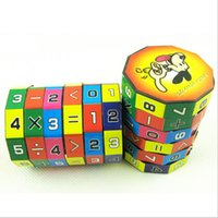 Wholesale Math Education - Wholesale-Effective New Design Children Education Learning Math Toys For Kids Puzzle Free Shipping