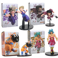 Wholesale Dragon Ball Z Big Toys - Anime Dragon Ball Z Figure Super Saiyan Son goku Gohan hercule Mark Broly scultures big Action Figure Model toys doll