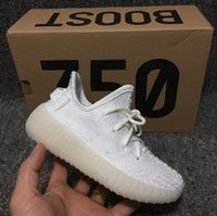 Wholesale Toddler Animal Shoes - Infant Cream White Boost 350 V2 Shoes Sply 350 black white Zebra Baby Sneaker Kanye West Designed Kids Youth Toddler Trainer