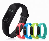 Wholesale Original Xiaomi Bluetooth4 Waterproof IP67 MiBand Wristband Bracelet Smart Heart Rate Monitor Fitness Tracker Touchpad OLED Strap