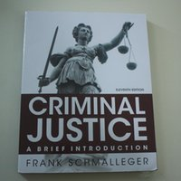 Wholesale Criminal Justice A Brief Introduction th Edition