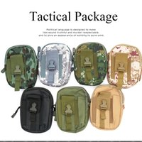 Wholesale Military Shipping Case - Hiking Military Molle Jogging Tactical Waist Bag Wallet Pouch Phone Case Outdoor Camping Hiking Bag Free Shipping