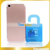 Wholesale R SIM RSIM11 r sim11 rsim unlock card for iPhone plus iOS7 ios ios10CDMA GSM WCDMA SB AU SPRINT G G iphone7 plus