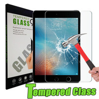 Wholesale Tab Computers - Computer Tablet PC Screen Protectors 9H 0.3mm Tempered Glass Film 2.5 HD Clear For Samsung Galaxy Tab S3 T719 ipad Mini 4 5 6
