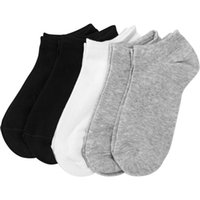 Wholesale gentleman combed cotton socks moisture absorption short boat socks sports casual hosiery for man male business hosiery W9815