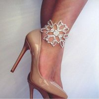 Wholesale Rhinestone Slave Bracelet Jewelry - Women Rhinestone Arm Harness Slave Chain Cuff Armband Armlet Anklet Bracelet Body Chains Bridal Party Wedding Floral Jewelry