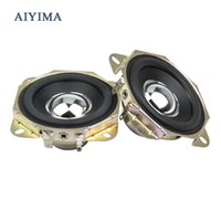 Wholesale Angle Portable Speaker - Wholesale- 2Pcs Audio Speakers 2.75Inch 4 Ohm 15W Uplifting Angle Strong Magnetic DIY Speaker