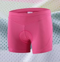 Wholesale Underwear Bicycle - Women Cycling Underwear Pink Underpant Bicycle Bike Sports Style Comfortable Outdoor Clothing M-2XL Size Underwear CHEJI
