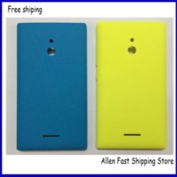 Wholesale Battery Cover Iphone Original - Original New Back Cover For Nokia XL,Battery Cover Case Replaccement With Side Button For Nokia XL Housing In Mobile Phone Cases