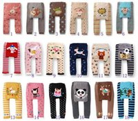 Wholesale Wholesale Busha Leggings - 36 Styles Popular Baby Pants Baby Girls Boys Leggings Busha PP Pants Wear Children's Leggings & Tights