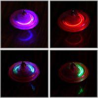 giroscópio magnético venda por atacado-New fun engraçado venda mágica voando giroscópio stall vendendo brinquedos fulgor giroscópio 2017 giroscópio de giro magnético