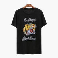 Wholesale Long Tee Shirts For Women - 2017 Blind For Love Embroidery Tiger Head T-Shirt Men Women Fashion Casual Short Sleeve Tops Tee Male Hip Hop O-Neck T Shirts