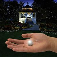 ingrosso luci fiabe galleggianti-Fata Led Perle !!! (50 Pz / lotto) Decorazione di Nozze 2 cm Mini Colorful Piccola Batteria Led Bacche Impermeabili Luci Led Galleggianti