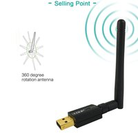 EDUP EP-MS1581 300Mbps Wireless USB Adapter WiFi con High Gain Antenna 2dBi scheda di rete Wi-Fi Dongle per Notebook PC