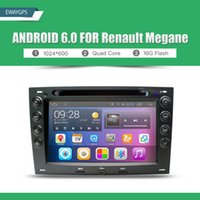Wholesale Megane Audio - Android 6.0 Quad Core Car DVD Radio Player Bluetooth steering-wheel For Renault Megane GPS navigation Audio bluetooth EW890PQH