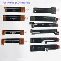 lcd ekran uzatma kablosu toptan satış-10pcs / lot LCD Ekran Sayısallaştırıcı Dokunmatik Ekran Uzatma Tester Testi Flex Kablo iPhone 4 4S 5 5C 5S 6 6 6S 6S 7 Artı Genişletilmiş Test